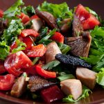 shiitake salad