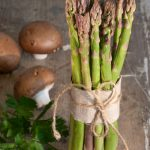 balsamic asparagus and mushrooms recipe