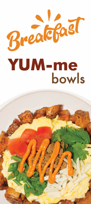 Breakfast YUM-me Bowls