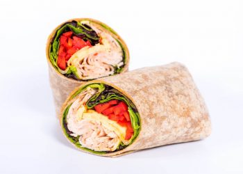 Zesty Turkey Wrap