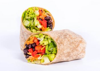 Southwest Black Bean Wrap