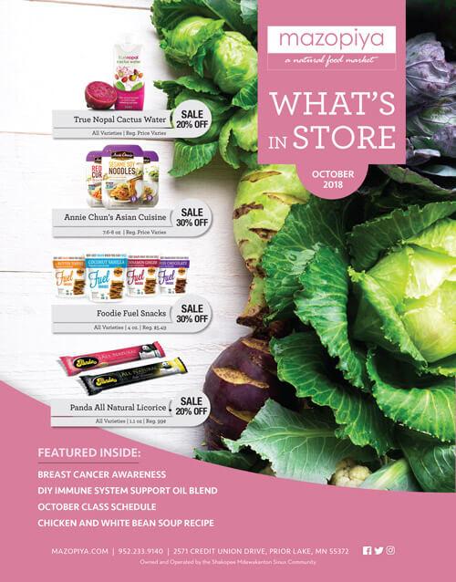 Mazopiya What's In Store October 2018