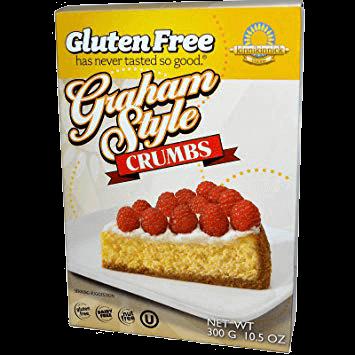 Kinnikinnick Foods Graham Style Crumbs
