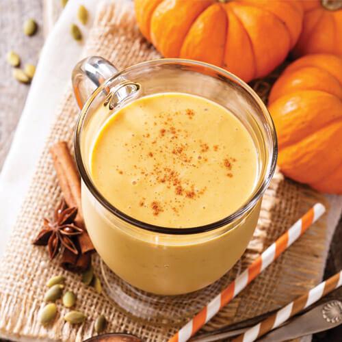 Golden Pumpkin Pie Smoothie