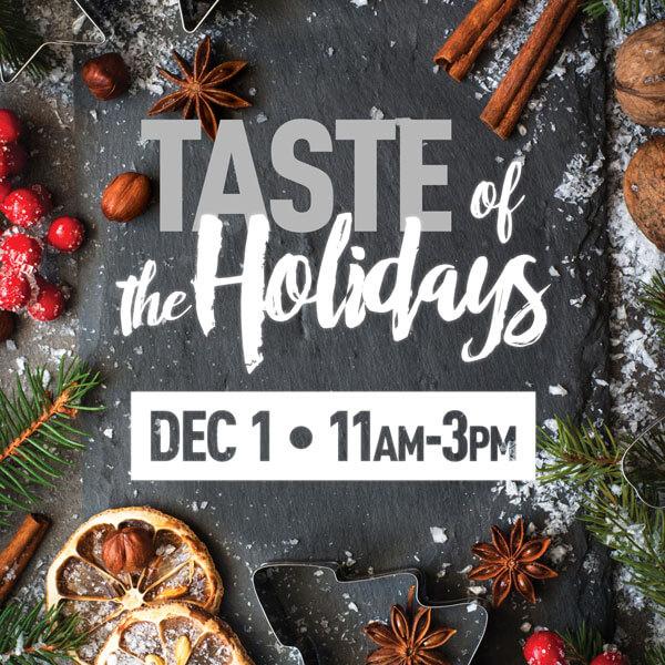 Mazopiya Taste of the Holidays Dec 1