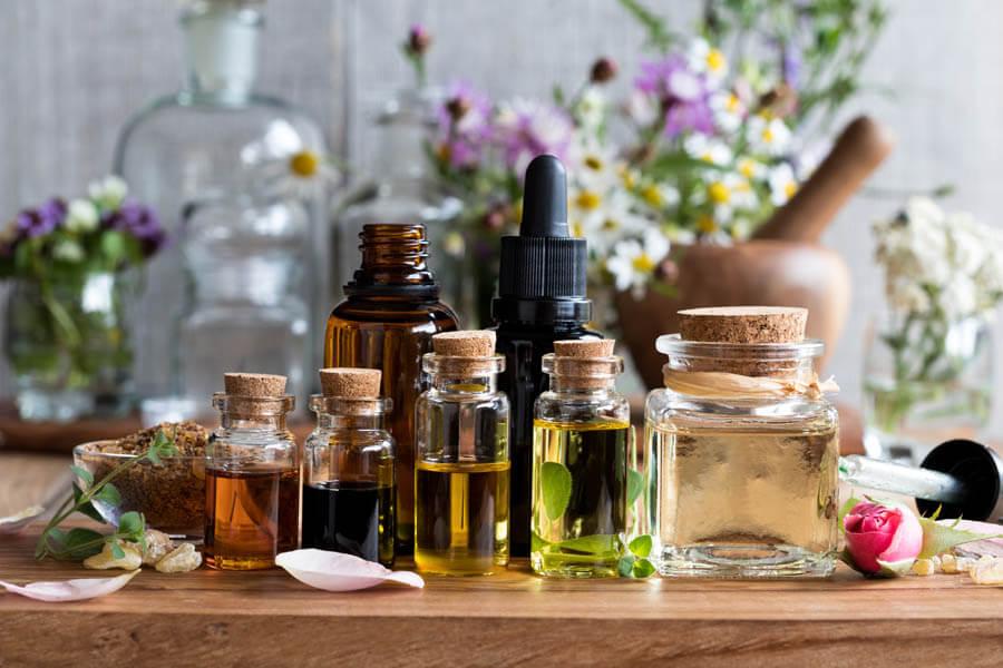 Essential Oil Wellness Blends