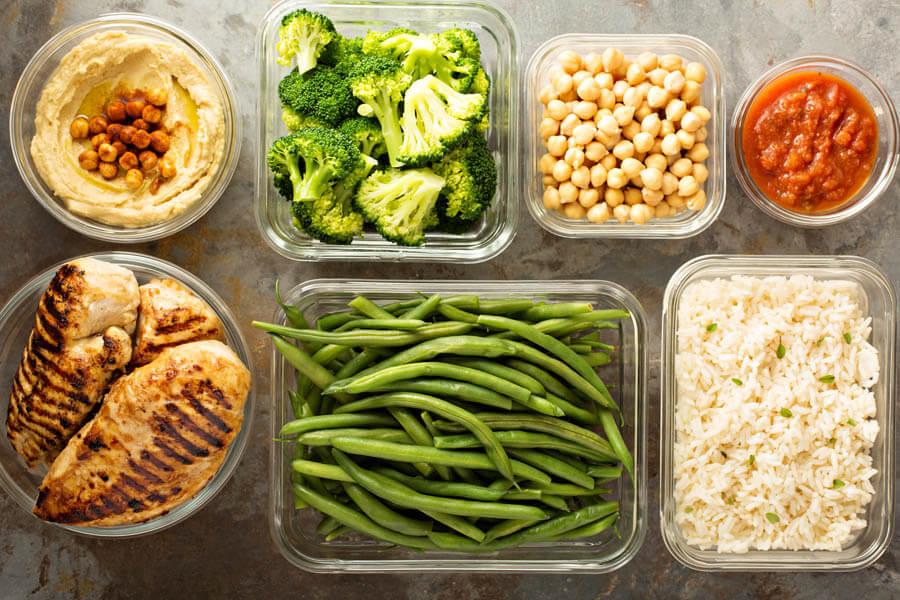 Plant vs. Meat Meal Prep