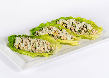 Dill Tuna Lettuce Wrap