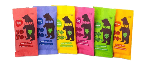 Bear Real Fruit Yoyo Snack
