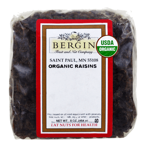 Bergin Fruit and Nut Company Organic Raisins