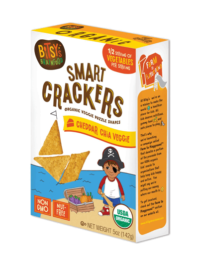 Bitsy's Brainfood Crackers