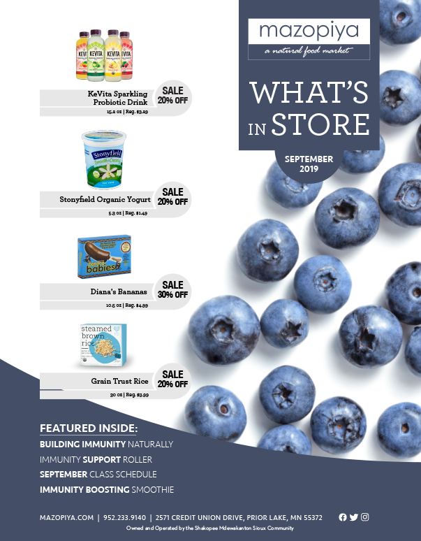 Whats In Store September Specials Cover