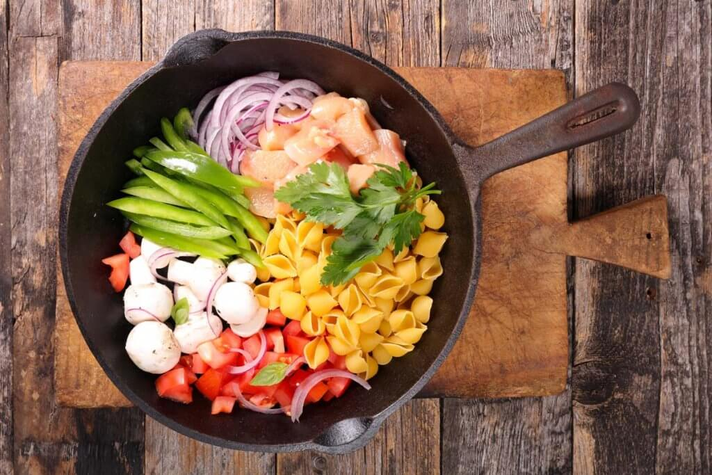One Pot One Pan meal