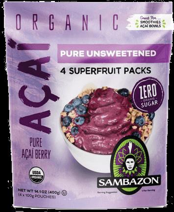 Sambazon Superfruit Packs