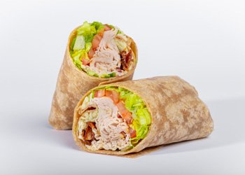 Classic Turkey and Bacon Wrap