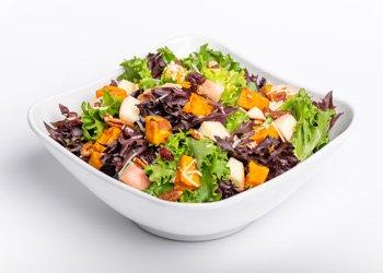 Crisp Harvest Salad with Lemon Maple Vinaigrette