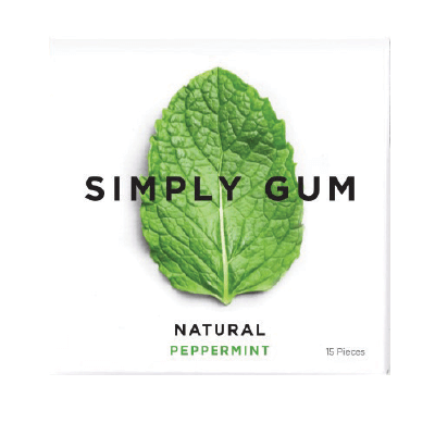Simply Gum Natural Chewing Gum Product Image